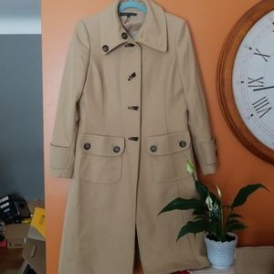 Antonio Melani Long Camel Coat